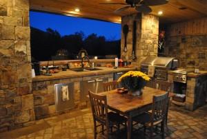 Outdoor Stone Kitchens