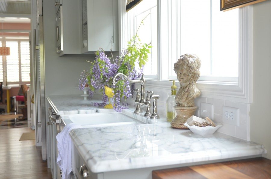 marble in kitchen