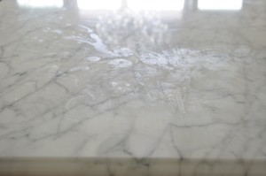 marble water stains