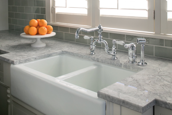 Quartz Counter Farm Sink