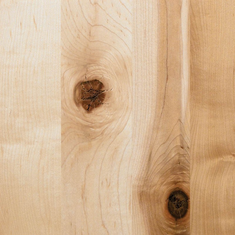 Rustic Knotty Hard Maple